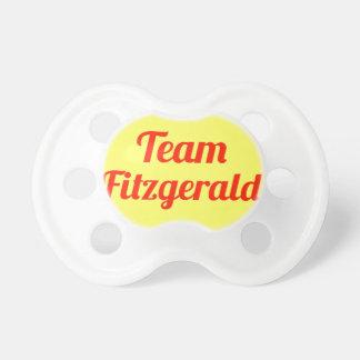 Team Fitzgerald Pacifier