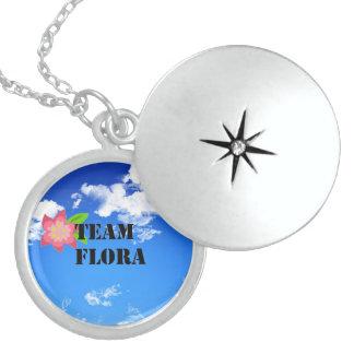 Team Flora Sterling Silver Locket