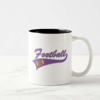 Team Football Purple T-shirts and Gifts Coffee Mug