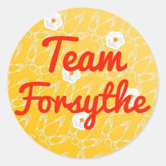 Team Forsythe Classic Round Sticker