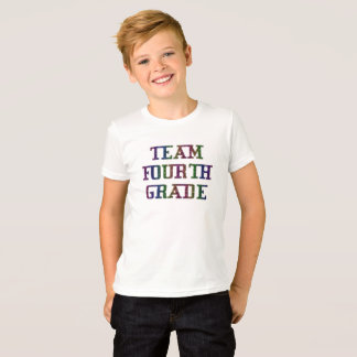 Team Fourth Grade, Back To School Novelty T-Shirt