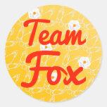 Team Fox Stickers