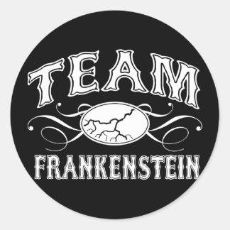 Team Frankenstein Classic Round Sticker