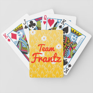 Team Frantz Bicycle Playing Cards