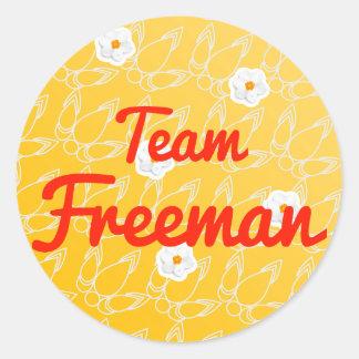 Team Freeman Stickers