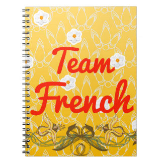 Team French Notebook