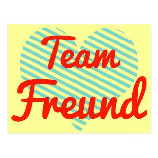 Team Freund Postcard