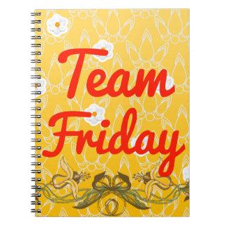 Team Friday Notebook
