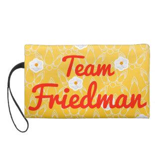 Team Friedman Wristlet