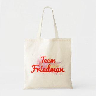 Team Friedman Canvas Bag