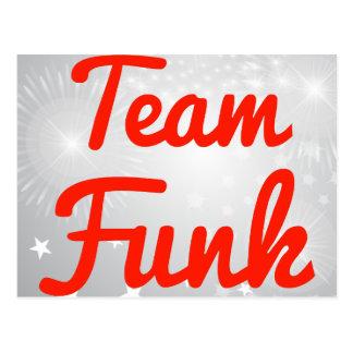 Team Funk Postcard