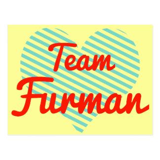 Team Furman Postcard