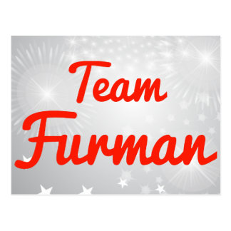 Team Furman Post Cards