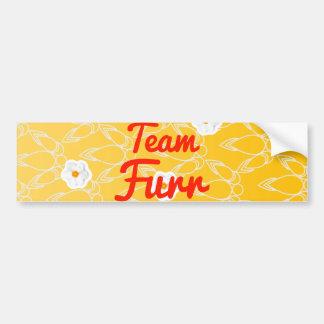 Team Furr Car Bumper Sticker