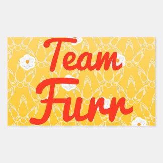 Team Furr Rectangular Sticker