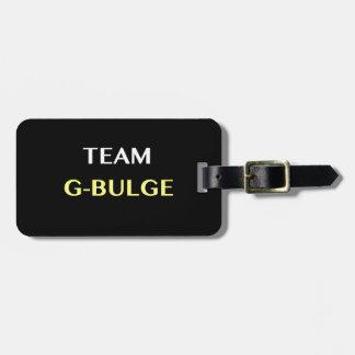 TEAM G-BULGE BAG TAG
