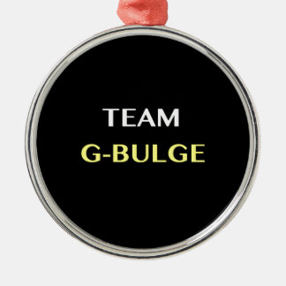 TEAM G-BULGE METAL ORNAMENT