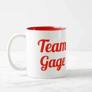 Team Gage Two-Tone Coffee Mug