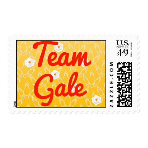Team Gale Stamps