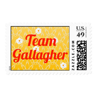 Team Gallagher Stamps