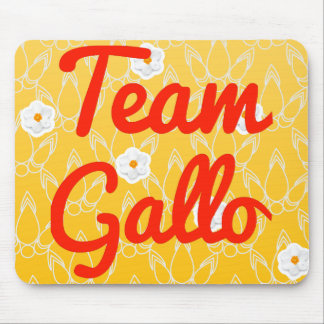 Team Gallo Mouse Pads