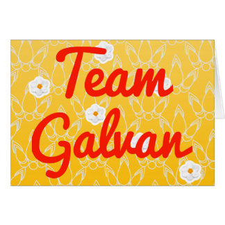 Team Galvan Cards