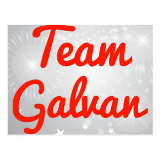 Team Galvan Postcard