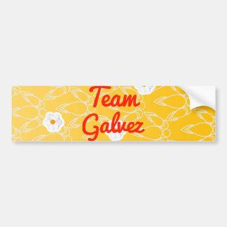 Team Galvez Car Bumper Sticker