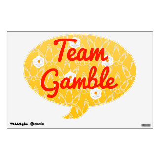 Team Gamble Room Graphics