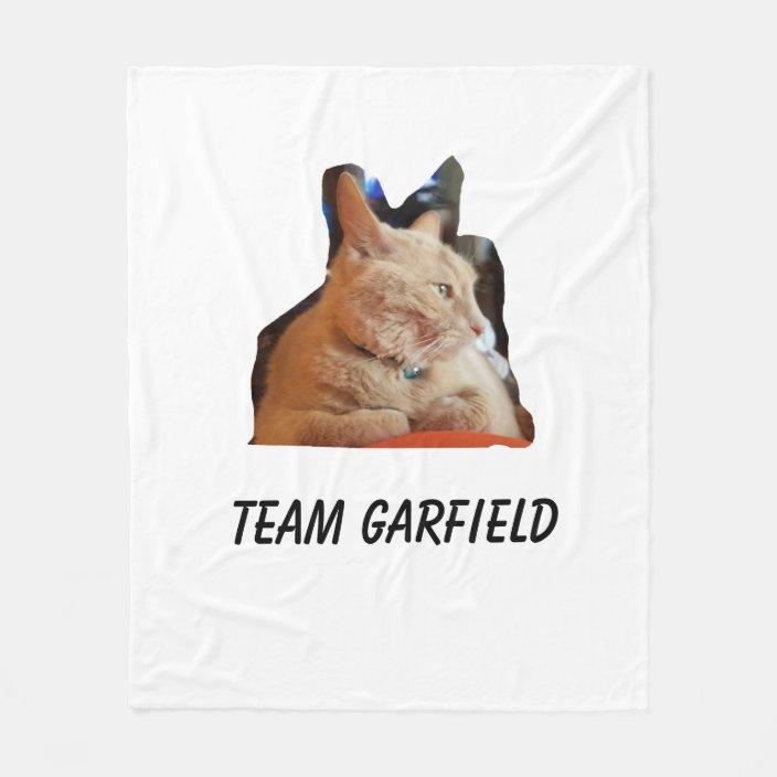 Team Garfield Fleece Blanket Zazzle Com