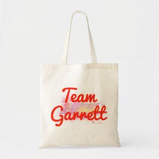Team Garrett Canvas Bags