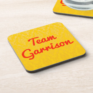 Team Garrison Beverage Coaster