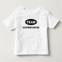 Team Gastroparesis Toddler Shirt