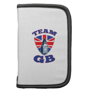 Team GB Big Ben British Flag Shield Folio Planners