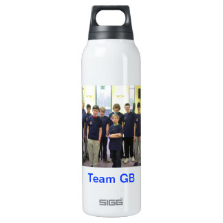 Team GB bottle 16 Oz Insulated SIGG Thermos Water Bottle