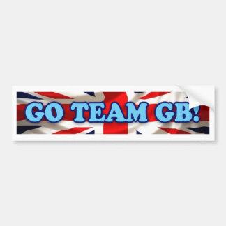 Team GB Bumper Sticker Car Bumper Sticker