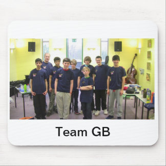 Team GB mouse mat Mouse Pad