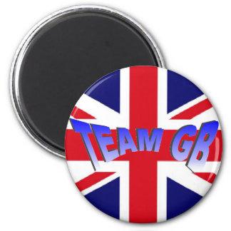 Team GB UK flag magnet