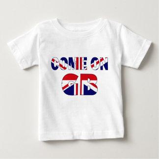 Team GB Union Jack Baby T-Shirt