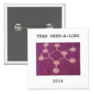 Team Geek-A-Long Button