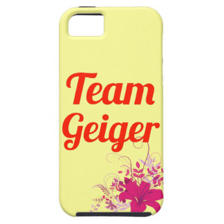 Team Geiger iPhone 5 Cover