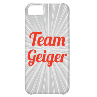 Team Geiger iPhone 5C Covers