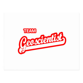 Team Geoscientist Postcard