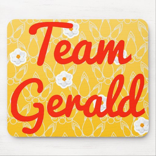 Team Gerald Mouse Pads