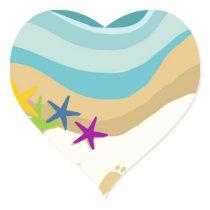 Team Get To Steppin Heart Sticker