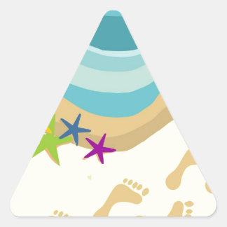 Team Get To Steppin Triangle Sticker