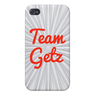 Team Getz iPhone 4/4S Cover