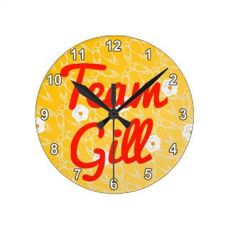Team Gill Wall Clocks
