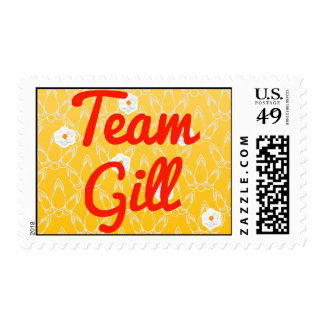 Team Gill Postage Stamps