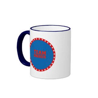 TEAM GINGRICH RINGER COFFEE MUG